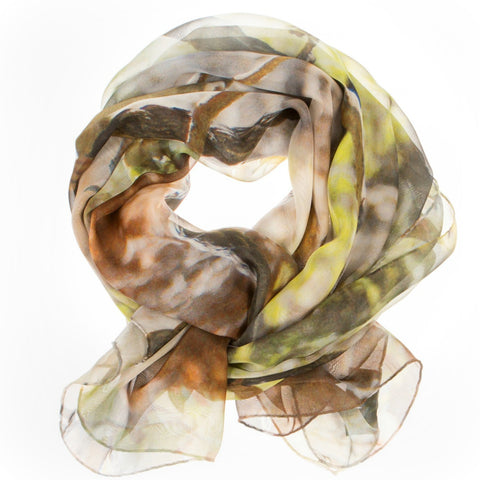 BIBLICAL ZOO SILK SCARF