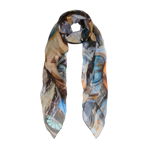 RANGOON LIVING SILK SCARF