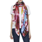 LONDON SPRING SILK SCARF