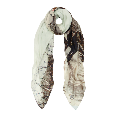 NYC COTTON SILK SCARF