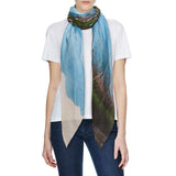 INLE LAKE COTTON SILK SCARF