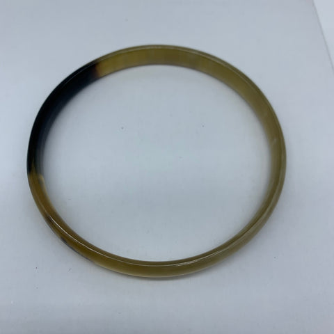 Cow Horn Bangle-S Natural Variation 2 - Lillon Boutique
