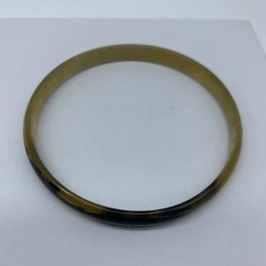 Cow Horn Bangle-S Natural Variation 5 - Lillon Boutique