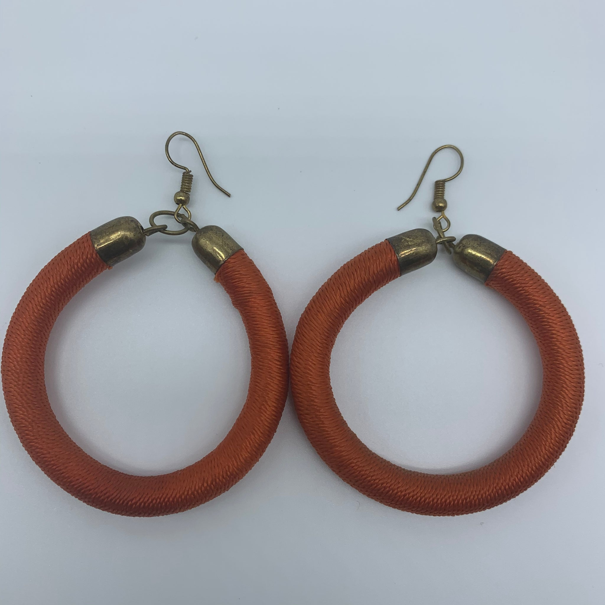 Thread Earrings-Orange Variation - Lillon Boutique