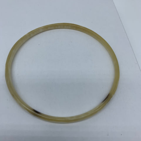 Cow Horn Bangle-XS Natural Variation 7 - Lillon Boutique