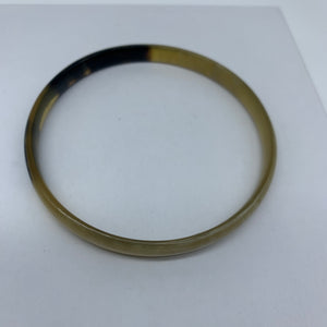 Cow Horn Bangle-S Natural Variation