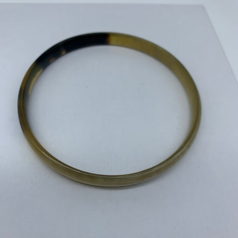 Cow Horn Bangle-S Natural Variation - Lillon Boutique