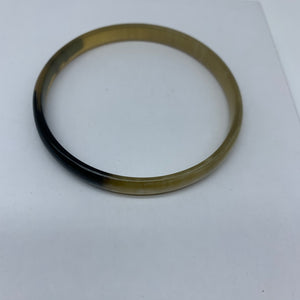Cow Horn Bangle-S Natural Variation 3 - Lillon Boutique