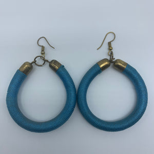 Thread Earrings-Blue Variation - Lillon Boutique