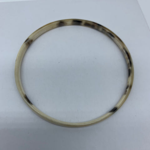 Cow Horn Bangle-XS Natural Variation 5 - Lillon Boutique