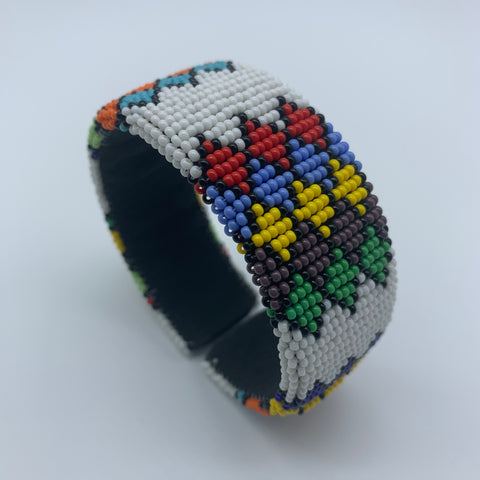 Beaded Bangle-Jumbo Multi Colour - Lillon Boutique