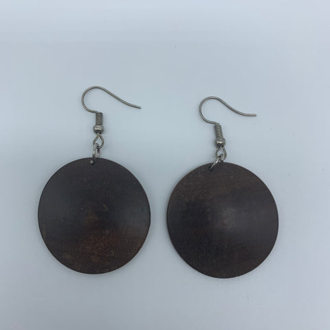 Wood Earrings-XS Circle - Lillon Boutique
