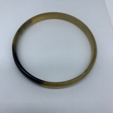 Cow Horn Bangle-S Natural Variation 4 - Lillon Boutique