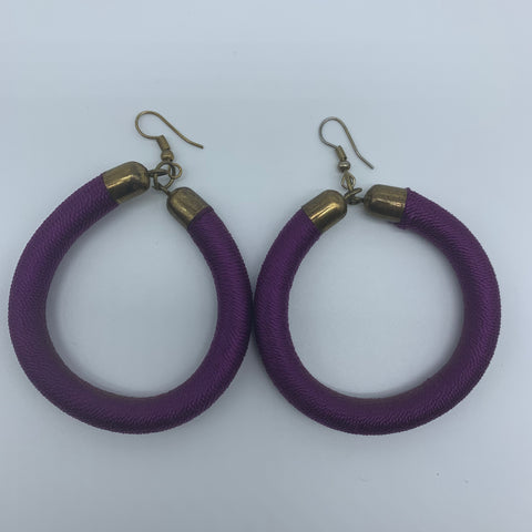 Thread Earrings-Purple Variation - Lillon Boutique