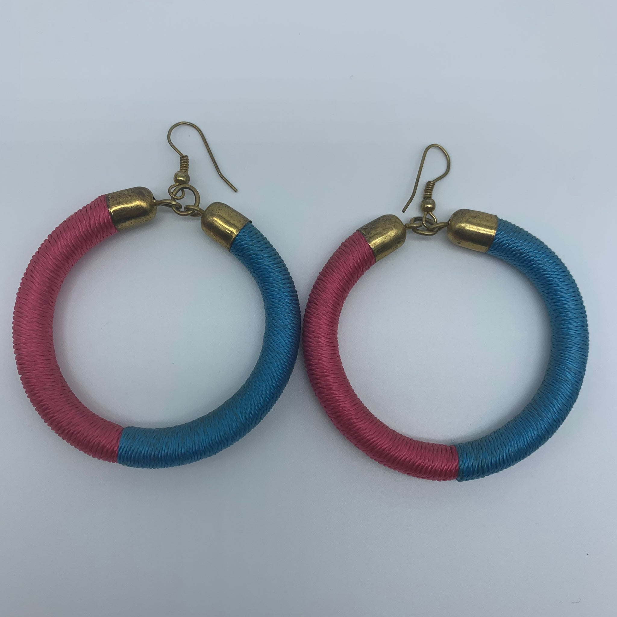 Thread Earrings-Blue Variation 2 - Lillon Boutique