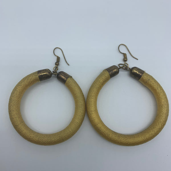 Thread Earrings-Yellow Variation 3 - Lillon Boutique