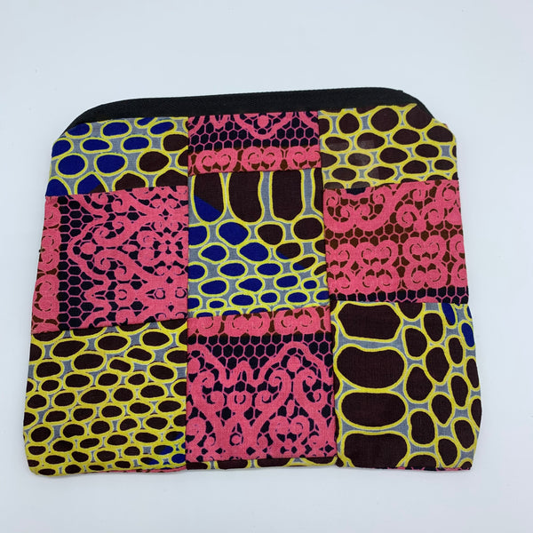 African Print Zoba Zoba Make Up Bag/ Pouch-M Multi Colour 5