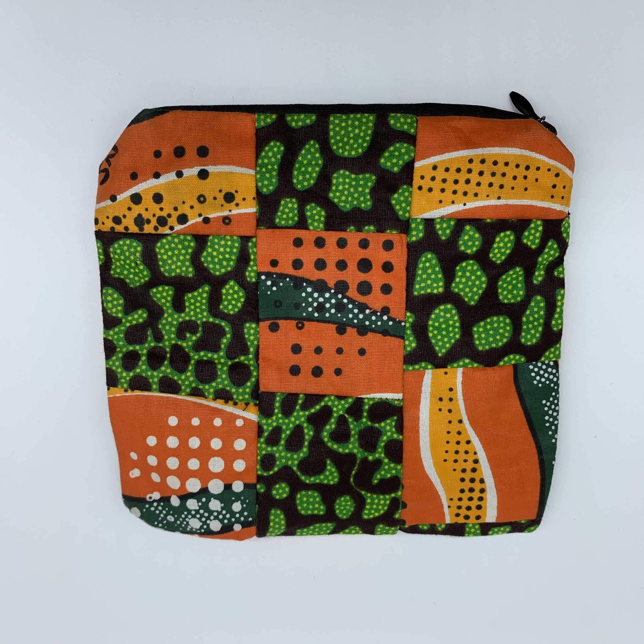 African Print Zoba Zoba Make Up Bag/ Pouch-M Multi Colour 4 - Lillon Boutique