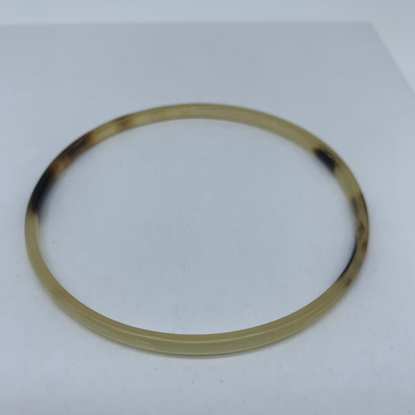 Cow Horn Bangle-XS Natural Variation 8