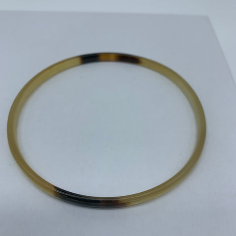 Cow Horn Bangle-XS Natural Variation 8 - Lillon Boutique