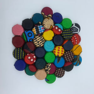 Bottle Caps Table Decoration-Multi Colour Variation 2