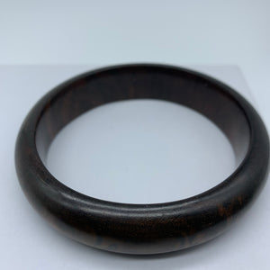 Wooden Bangle-L Multi Toned Brown Variation