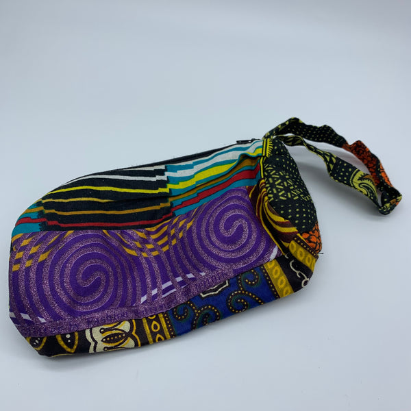 African Print Makeup bag/Pencil case-Zoba Zoba Multi Colour 2 - Lillon Boutique