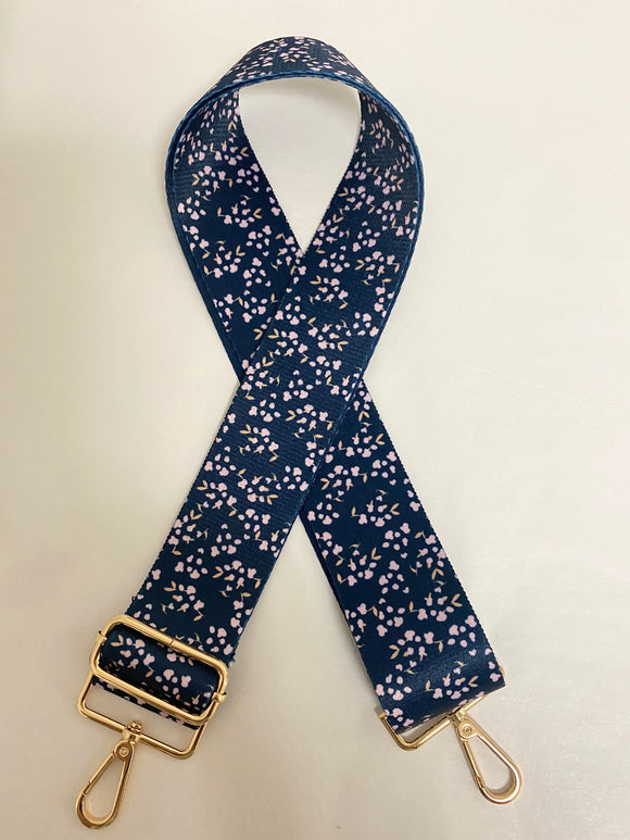 Midnight Meadow Purse Strap
