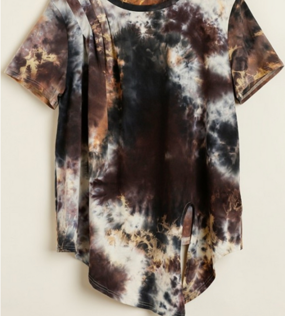 Thunder and Lightning Tie Dye T-Shirt