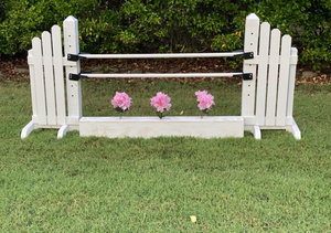 Child Jump Flower Box with Flowers