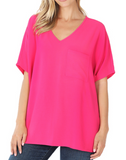 Pretty in Pink Dolman