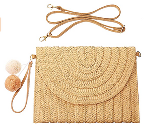 Carried Away Straw Bag