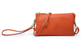 3 Compartment Crossbody/Wristlet