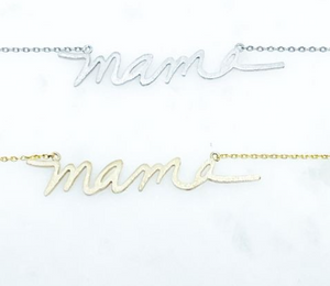 Mama Necklace (Gold)
