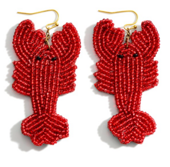 Rock Lobster Earrings