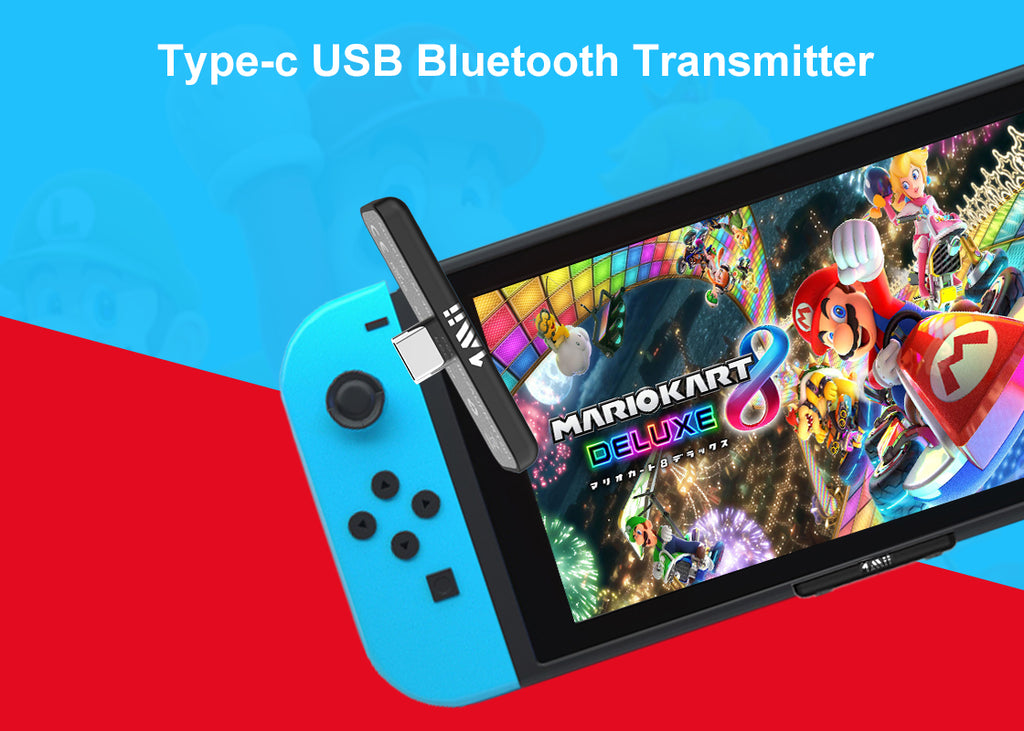 1Mii Bluetooth Adapter for Nintendo Switch