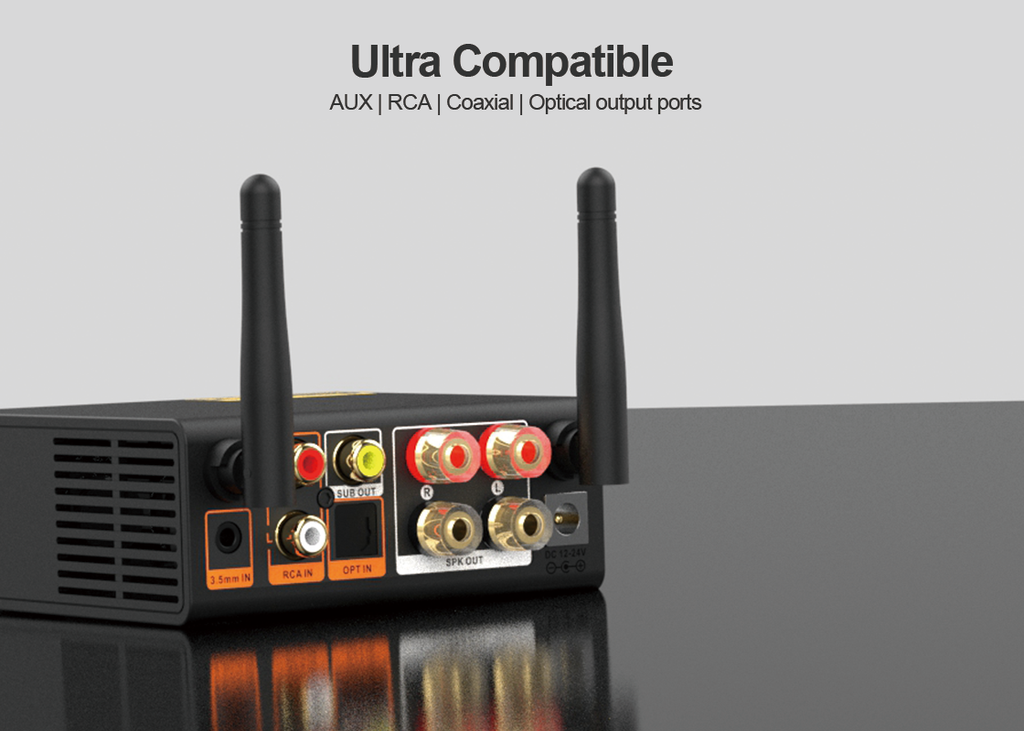 Ultra compatible for 1mii bluetooth  amplifier receiver