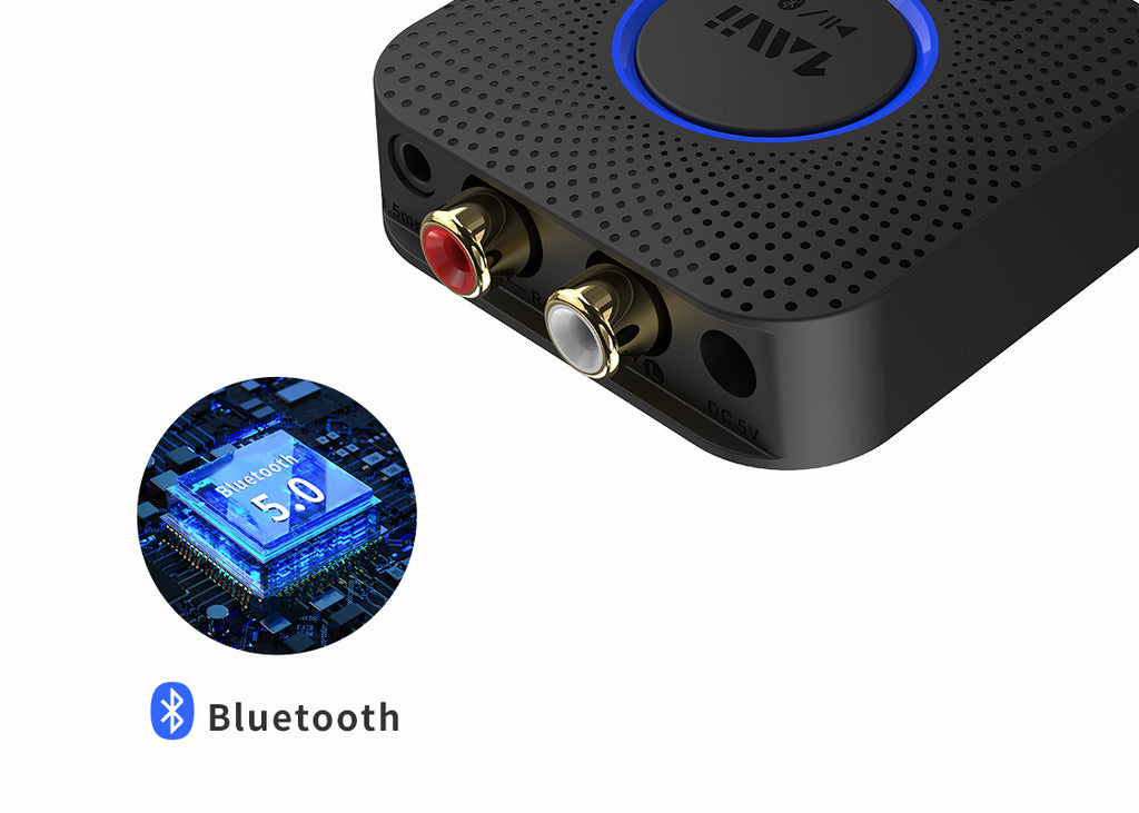 B06 Mini Bluetooth receiver features Bluetooth 5.0 chip