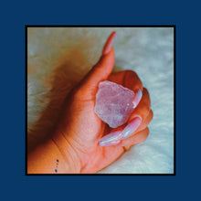 Load image into Gallery viewer, Unfinished Rose Quartz Crystal