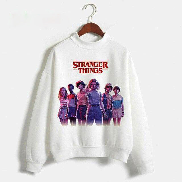 Pull Stranger Things Blanc