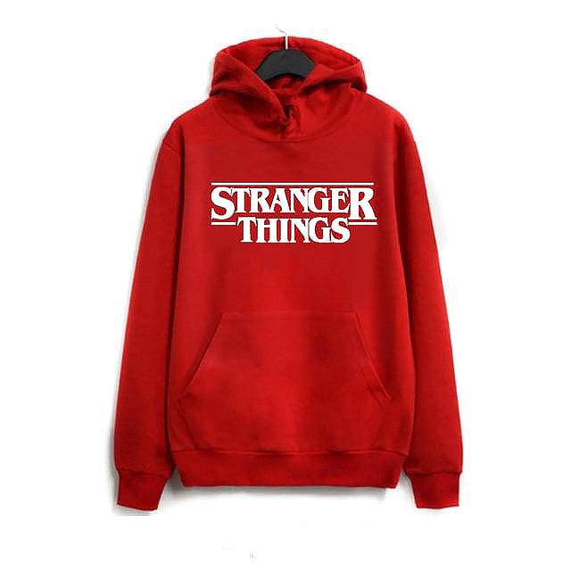 Sweat Stranger Things rouge