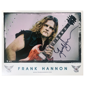 "Frank Hannon with SG Guitar 8"" x 10"" Photo (Autographed)"