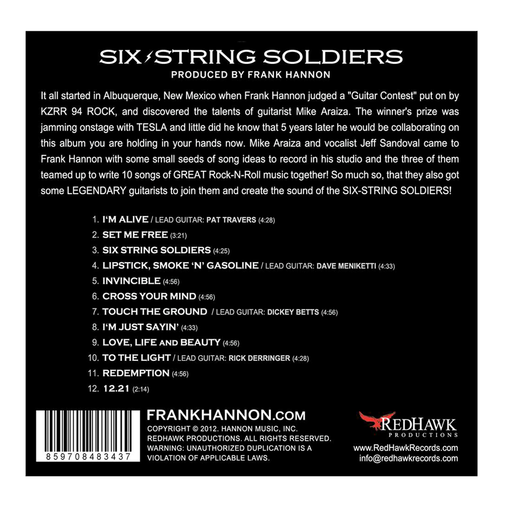Six String Soldiers