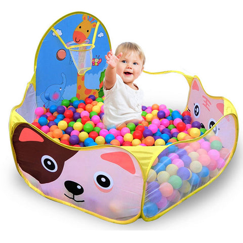 Colorful Children's Tent Ocean Ball Pool Toys - My Amazing Treasures