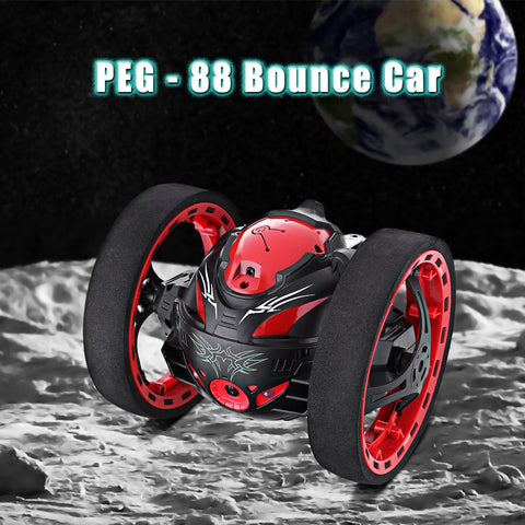 Remote Control Bounce Cars Jumping Music Playing Car with Camera Video Function - My Amazing Treasures