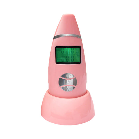 Skin Care Moisture Analyzer Digital Water Oil Monitor Tester with LCD Display for Spa - My Amazing Treasures