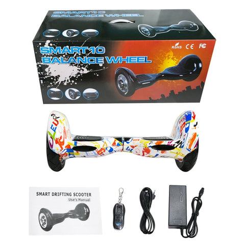 hoverboard 10 Inch Tyre Two Wheels Bluetooth Self Balance Scooters - My Amazing Treasures