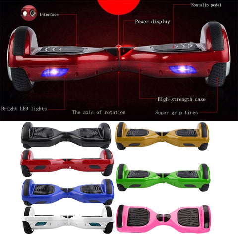 Hover Board Balance 2 Wheels Portable COOL Guy/Girl - My Amazing Treasures