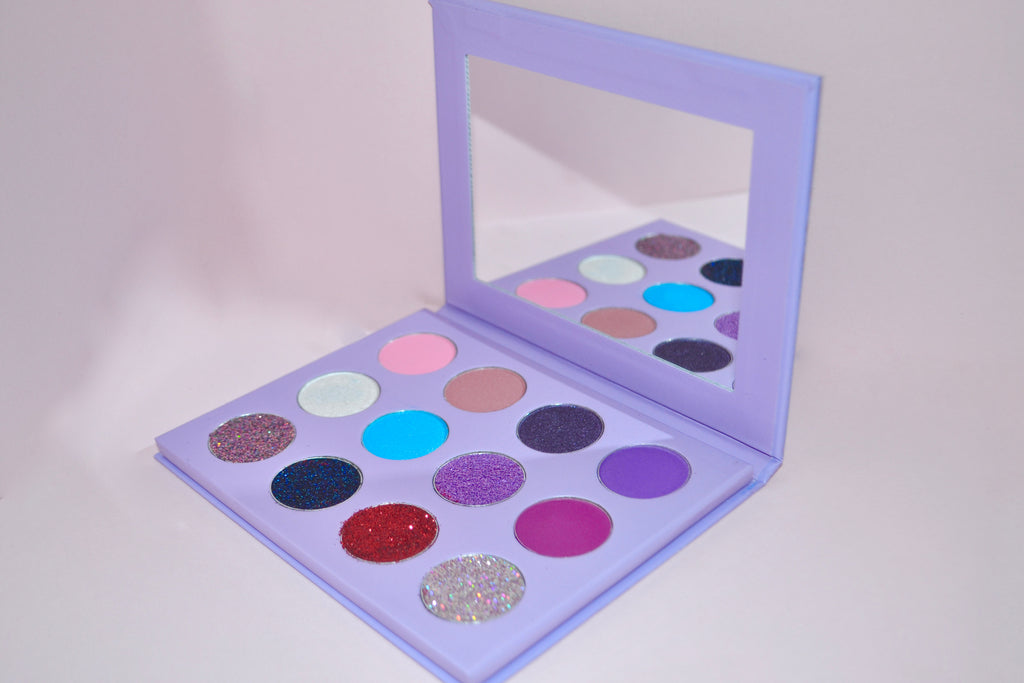 Lovebug In Mercury Eye Shadow Palette - LOVE2BFLIRTY COSMETICS