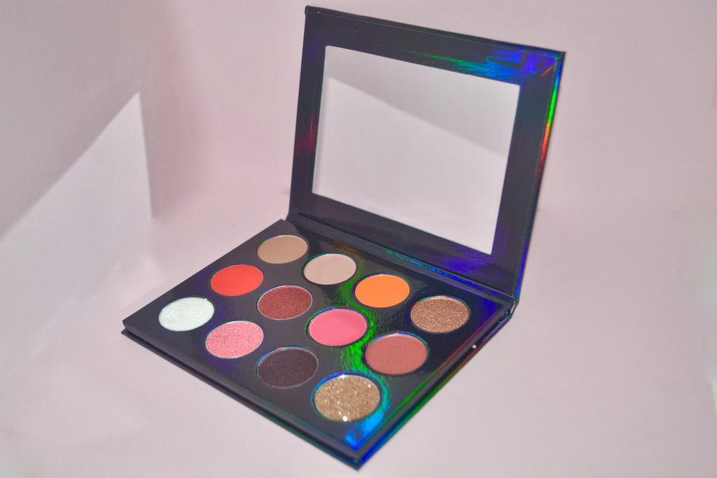 Neptune Bright Eyeshadow Palette - LOVE2BFLIRTY COSMETICS
